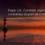 Étape 1/6 : Contexte, objectifs et contraintes du plan de comptage