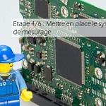 Etape 4/6 : Mettre en place le système de mesurage