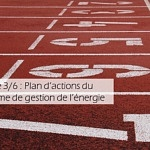 Etape 3/6 : Plan d'actions du système de gestion de l'énergie