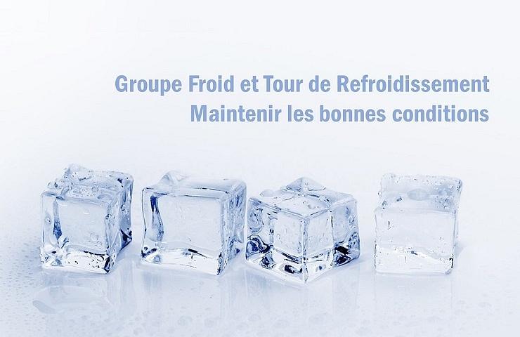 Groupe froid Tour de refroidissement